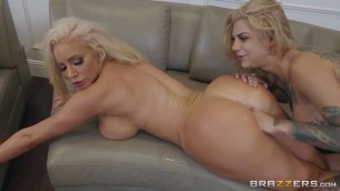Hot And Mean Bonnie Rotten Nicolette Shea Sucking Dad Dick Brazzers