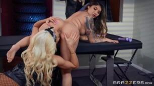 Brenna Sparks Nicolette Shea Biker Babes Harlots Of Hell Hotandmean Brazzers Shirley Manson Nude