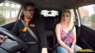 Fake Driving School Sexy Victoria Summers Instructor Seduced By Busty Slut Sexmex Lily