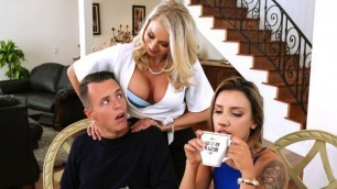 Brazzers - Massaged By Katie Morgan's Sexy Mother