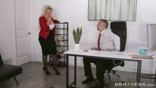 Bigtitsatwork Brazzers Kylie Kingston The Temps Crush Sweet Porn
