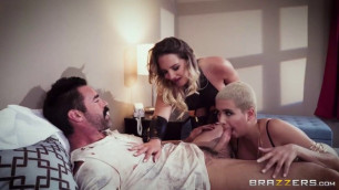 Cali Carter Aaliyah Hadid Raunchy Girls The Exxxceptions Episode 2 ZZ Series Brazzers