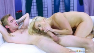 AJ Applegate big fat dick for her holes Anal Glory boobs masage Brazzers
