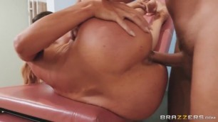 Aubrey Black Busty Blonde All Backed Up Brazzers Doctor Adventures