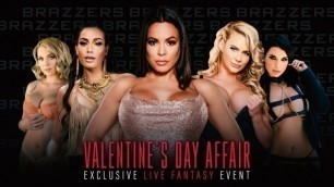 Phoenix Marie, Luna Star And Others In Brazzers LIVE: Valentine's Day Affair