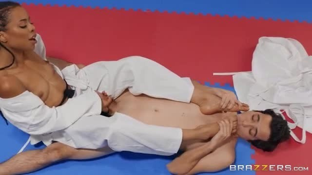 Brazzers Fighting Foot Domination Big Fat Cock