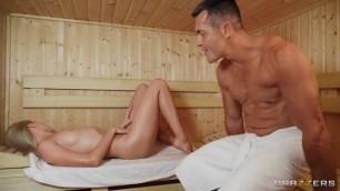 Brazzers - Angelika Grays In Sauna Soak