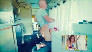 Beautiful Sex Videos Brazzers When The Food Truck Is A Rockin Sean Lawless Alex Wonderful Blow Job Horny Pussy
