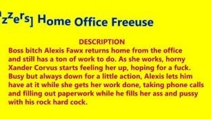 [brazzers] Home Office Freeuse - Xander Corvus, Alexis Fawx - November 27. 2020