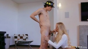 Milfslikeitbig Brazzers Brandi Love Red Hot Calendar Shoot Raiding Cum On Wife Tits