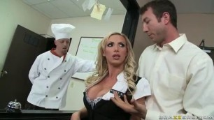 Nikki Benz Fuck The Cook And Waitress Brazzers Sheri Moon Zombie Nude